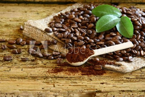Fototapeta coffee bean
