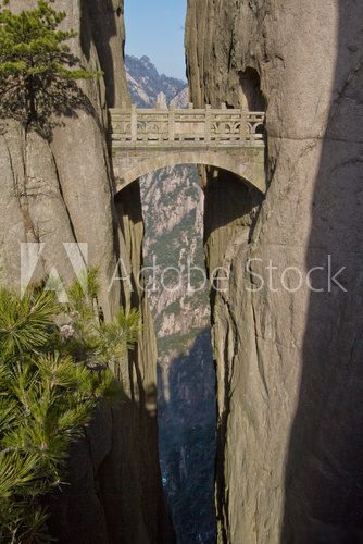 Fototapeta Fairy Walking Bridge, Mt Huangshan