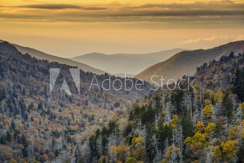 Fototapeta Park Narodowy Smoky Mountains