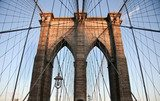 Fototapeta Brooklyn Bridge arch