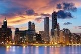 Fototapeta Chicago Skyline