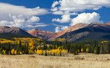 Fototapeta Colorado Rocky Mountains in Fall