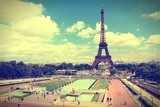 Paris. Cross processed color tone.