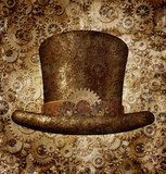 Obraz Steampunk Top Hat