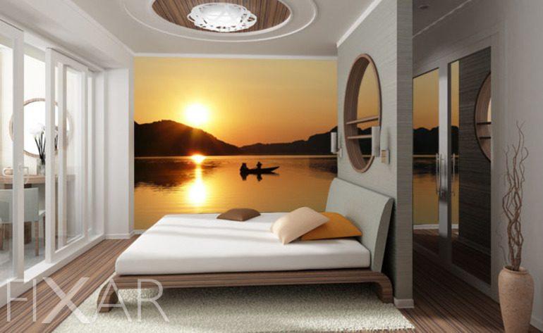 Makro Ujęcie Naturalnego Piękna Do Sypialni Fototapety Fixarpl