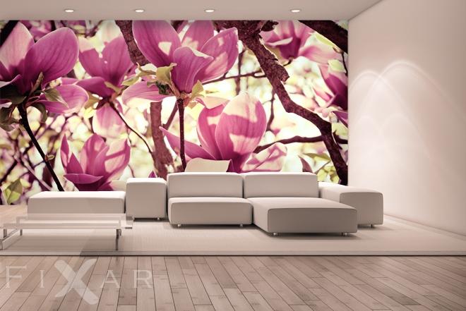 kwitn ce wn trze kwiaty fototapety. Black Bedroom Furniture Sets. Home Design Ideas
