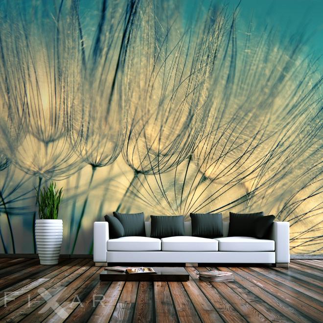 leniwe wakacje dmuchawce fototapety. Black Bedroom Furniture Sets. Home Design Ideas